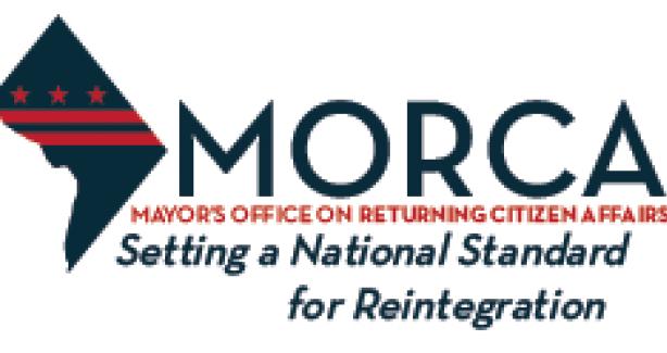 """Logo reading """"MORCA:  Setting the National Standard for Reintegration"""""""